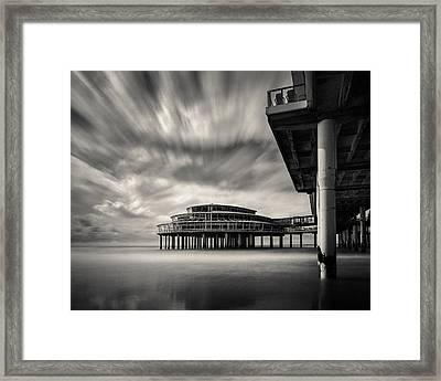 Scheveningen Pier 1 Framed Print by Dave Bowman