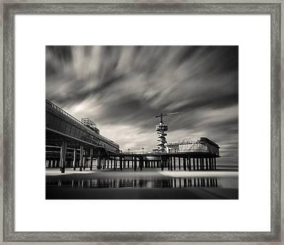 Scheveningen Pier 2 Framed Print by Dave Bowman