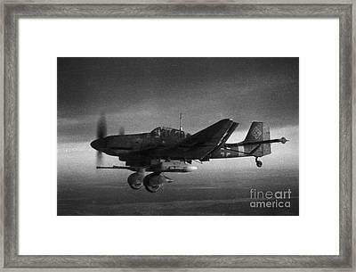 Ju87g-2 Kanonenvogel Framed Print
