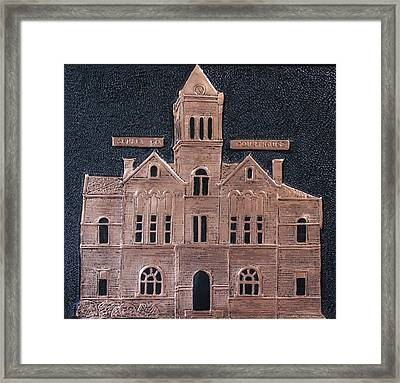Schley County, Georgia Courthouse Framed Print