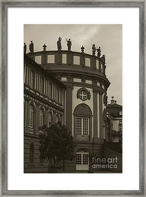 Schlosspark Biebrich Framed Print