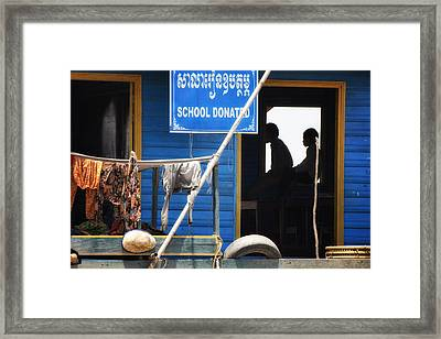 School Boat Framed Print