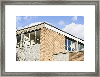 School Building Framed Print by Tom Gowanlock