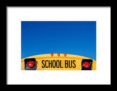School Framed Prints