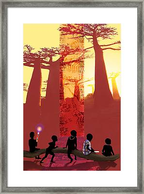 School Days Framed Print by Mark Myers