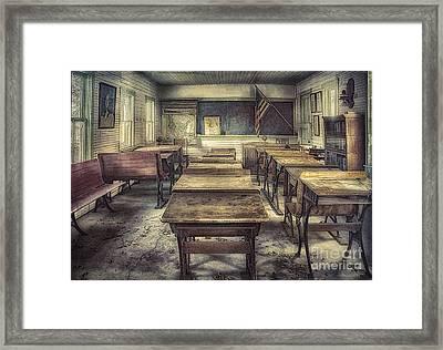 School Days Framed Print by Priscilla Burgers