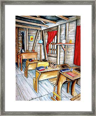 School Days Framed Print by Sally Storey Jones
