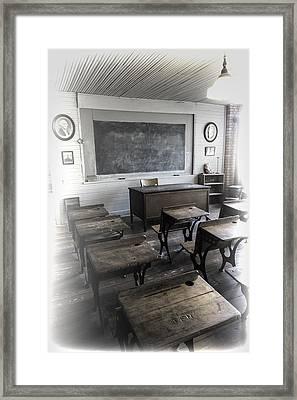 School Days Framed Print