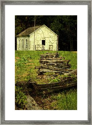 School Days Framed Print by Tingy Wende