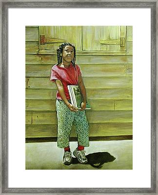 School Daze Framed Print by Curtis James