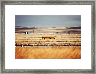 School Daze Framed Print by Todd Klassy