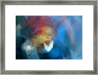 School Disco Framed Print by Jez C Self