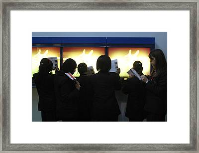 School Group Framed Print by Jez C Self