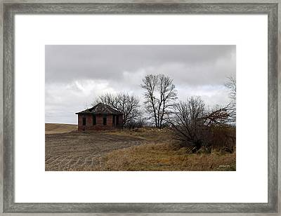 School Is Out Framed Print