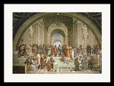 Plato Framed Prints