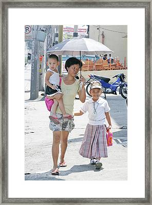 School Time 2 Framed Print by Jez C Self