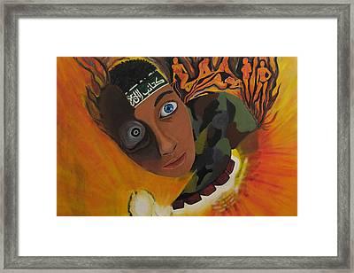 Schoolboy Fantasy Framed Print