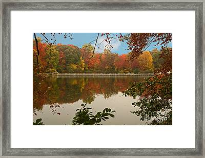 Schooleys Mountain Park Framed Print