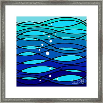 schOOlfish II Framed Print