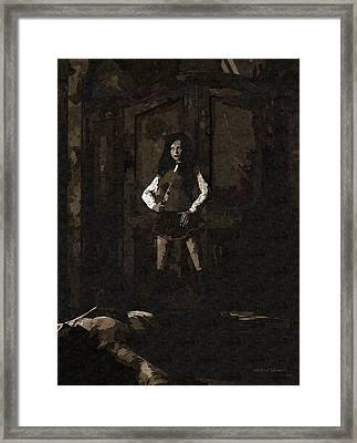 Schoolgirl Revenge Framed Print