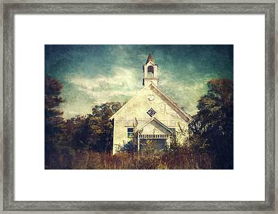 Schoolhouse 1895 Framed Print by Scott Norris