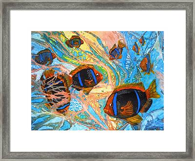 Schools Out Framed Print by Liz Borkhuis