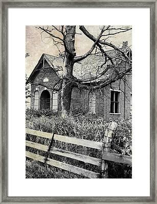 School's Out Framed Print by Scott Kingery
