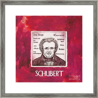 Schubert Framed Print by Paul Helm