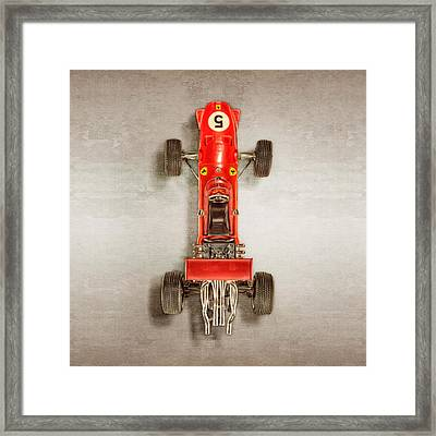 Schuco Ferrari Formel 2 Top Framed Print by YoPedro