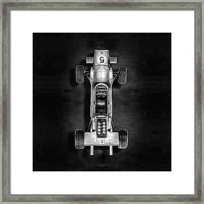 Schuco Matra Ford Top Bw Framed Print