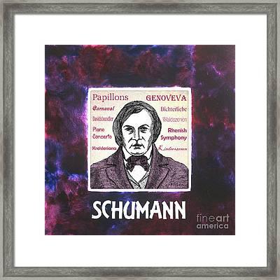 Schumann Framed Print by Paul Helm