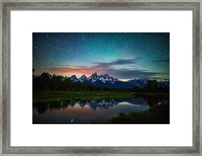 Schwabacher Nights Framed Print by Darren White