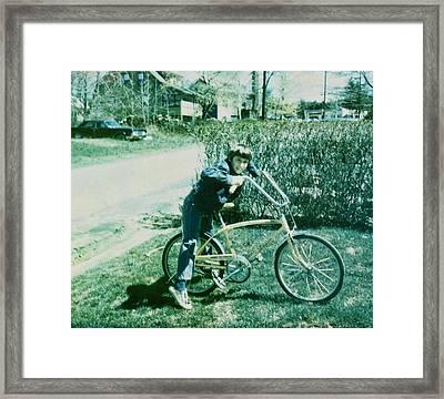 Schwinn Framed Print by JAMART Photography