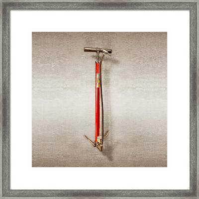 Schwinn Pump Framed Print by YoPedro