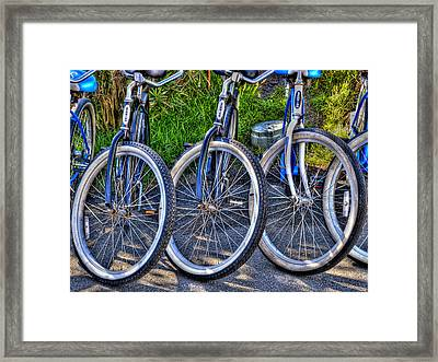 Schwinns Framed Print by Paul Wear