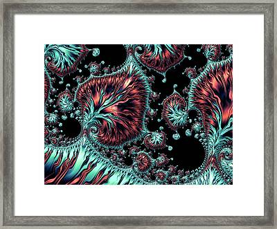 Sci-fi Fantasy Framed Print by Susan Maxwell Schmidt