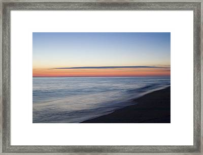 Sciasconset Morning Nantucket Framed Print