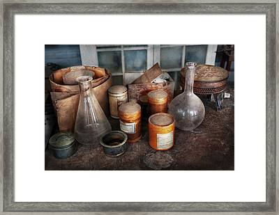 Science - Chemist - Ready To Experiment Framed Print by Mike Savad