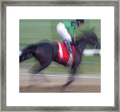 Science In Motion Framed Print