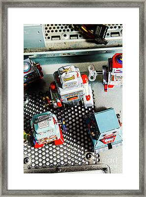 Science Of Automation Framed Print