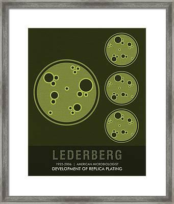 Science Posters - Esther Lederberg - Microbiologist Framed Print