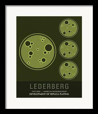 Microbiology Mixed Media Framed Prints