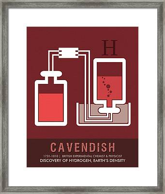 Science Posters - Henry Cavendish - Chemist, Physicist Framed Print