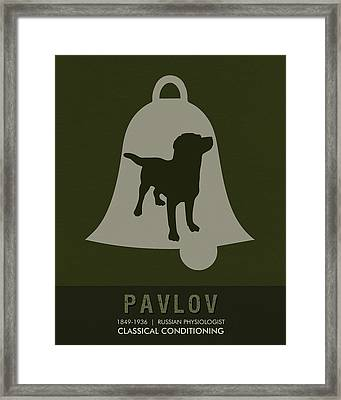 Science Posters - Ivan Pavlov - Physiology Framed Print