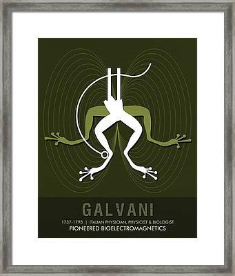 Science Posters - Luigi Galvani - Physician, Biologist, Physicist Framed Print