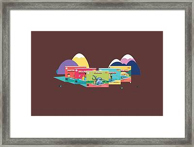 Scifikids Augmented Reality India Innovare Framed Print