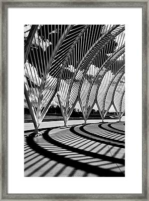 Framed Print featuring the photograph Scintilla Of Shadows by Mike Lang
