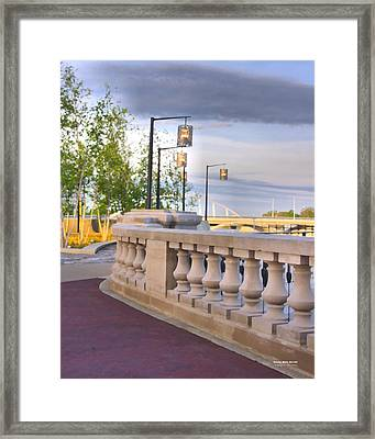 Scioto Mile 29123 Framed Print