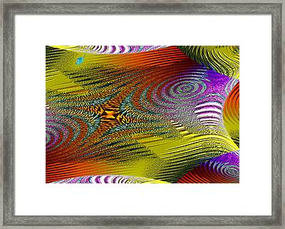 Scirocco Framed Print by Mathilde Vhargon