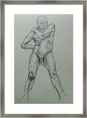 Sciron Framed Print by Chris  Riley